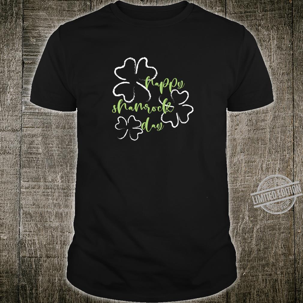 Happy Shamrock Day, St Patrick's Day, Shamrocks, St. Pat's Shirt