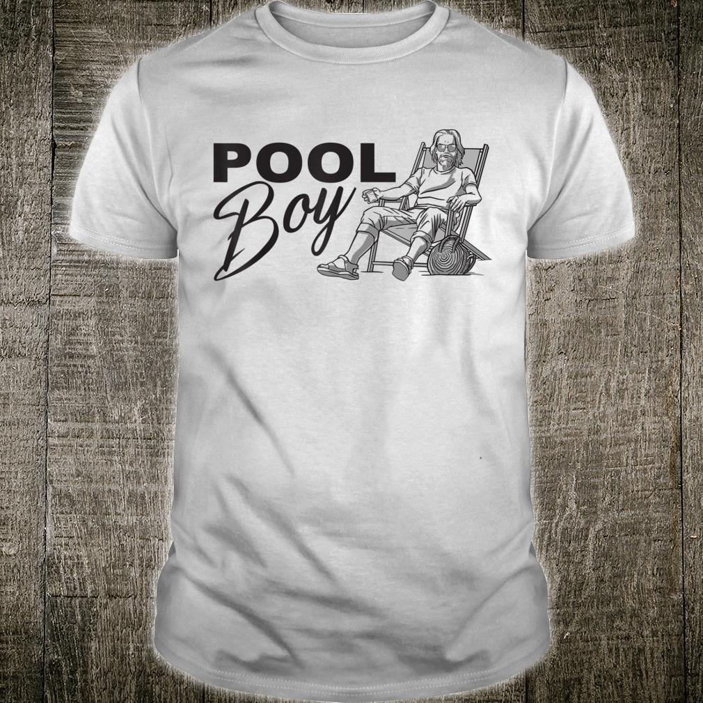 Herren Poolboy Bademeister Geschenk Schwimmlehrer Schwimmsaison Shirt