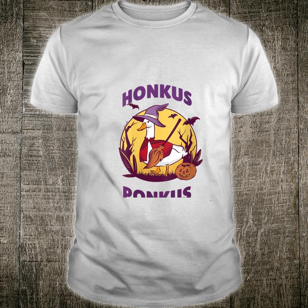 Honkus Ponkus Halloween 2020 Goose Witch Duck swan Shirt