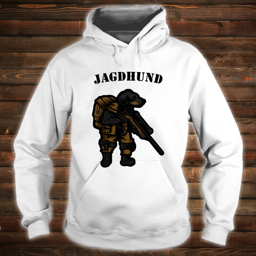 Hunting Dog Hunter Soldier Dachshund Dachshund Tecker Idea Shirt hoodie