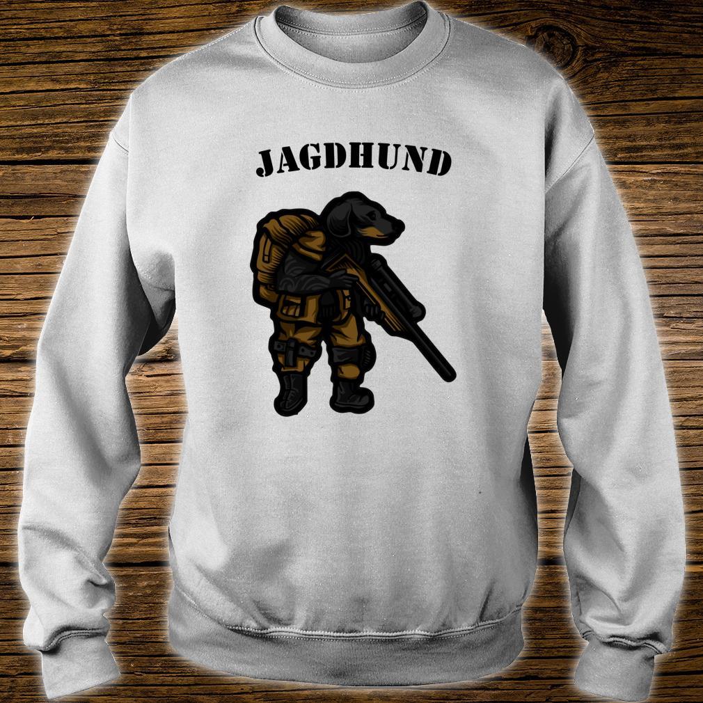 Hunting Dog Hunter Soldier Dachshund Dachshund Tecker Idea Shirt sweater