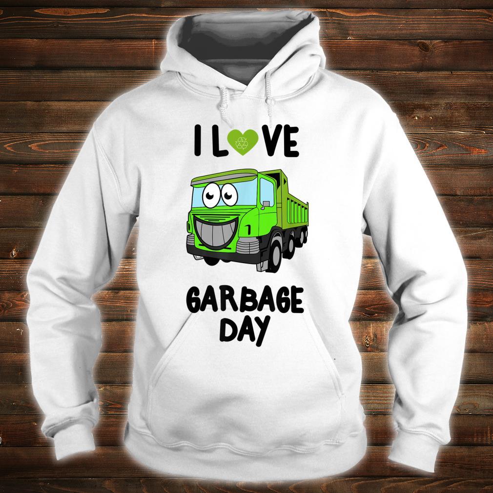 I Heart Love Garbage Day Little Boys Shirt hoodie