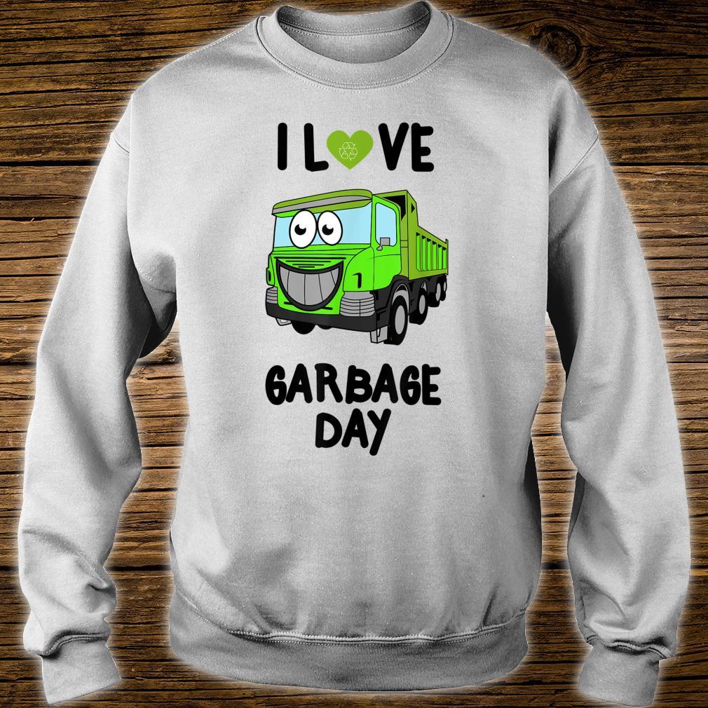 I Heart Love Garbage Day Little Boys Shirt sweater