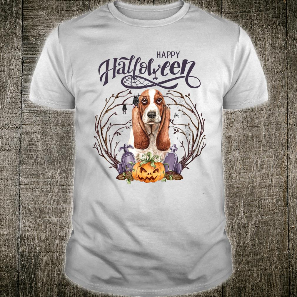 I Love Halloween Almost as Much as I Love My Basset Hound Shirt