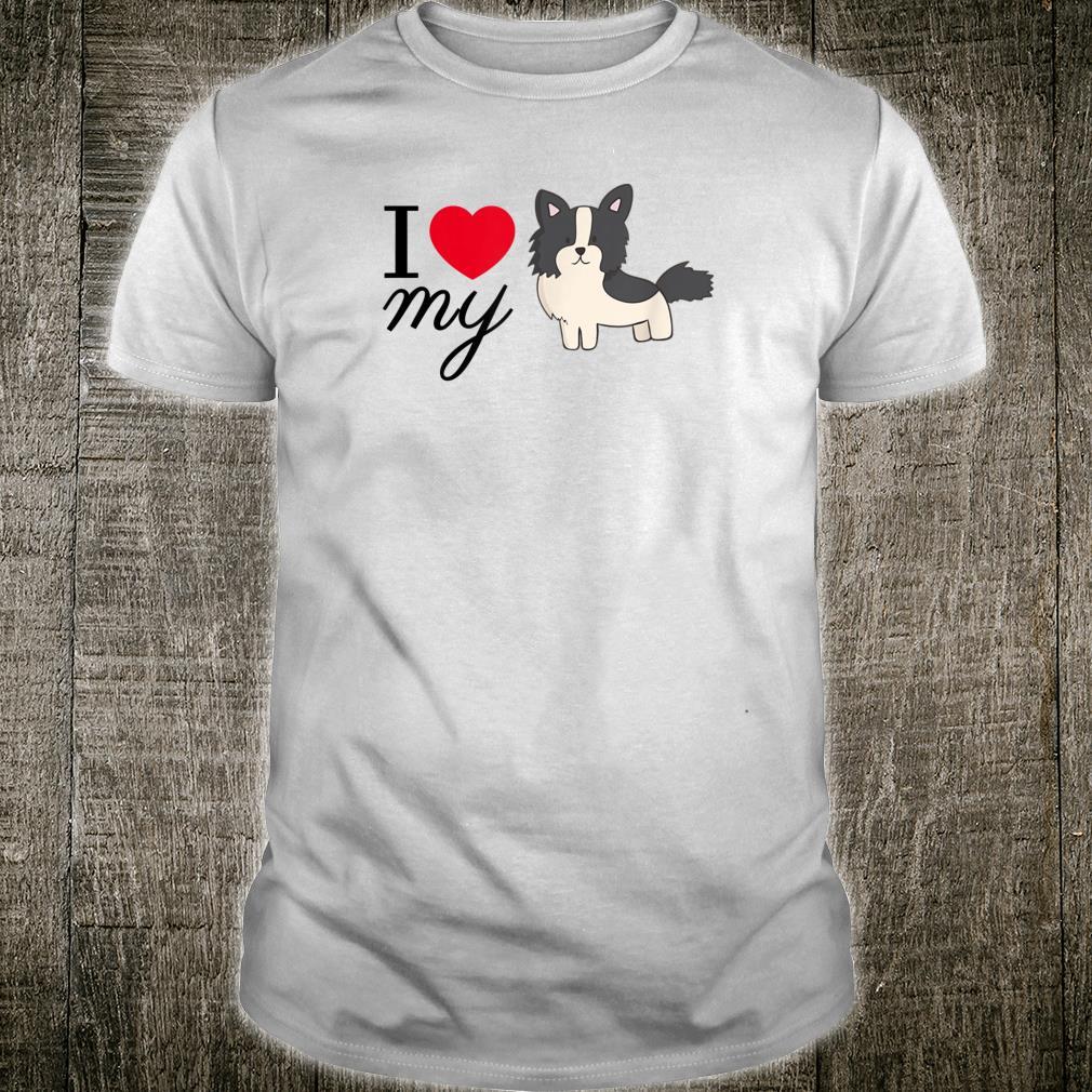 I Love my Border Collie Shirt