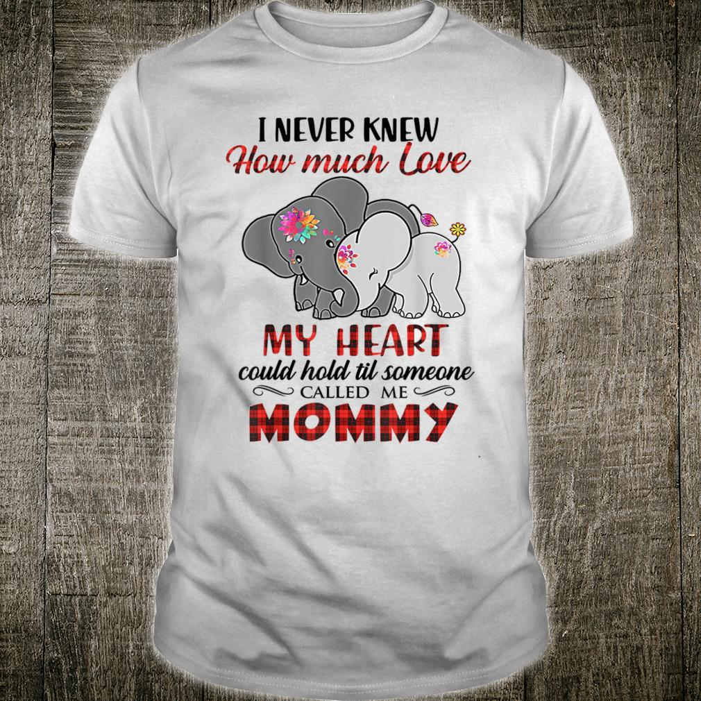 I Never Knew How Much Love My Heart Could Hold Shirt