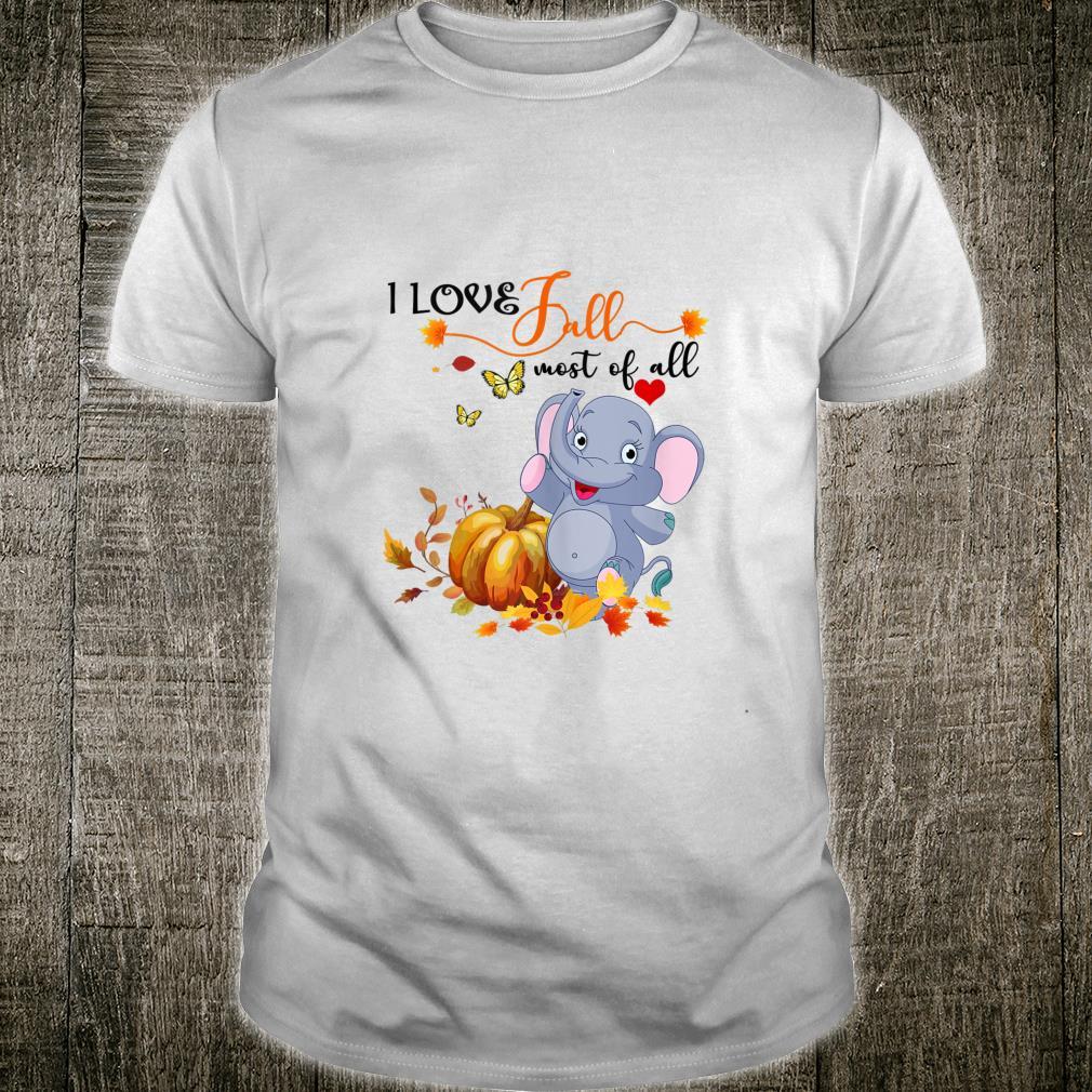 I love fall Shirt
