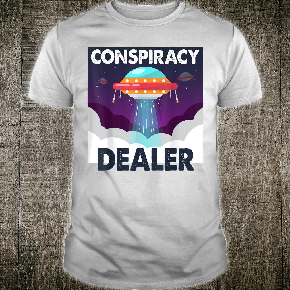 Illuminati Conspiracy Dealer UFO Alien Believer Shirt