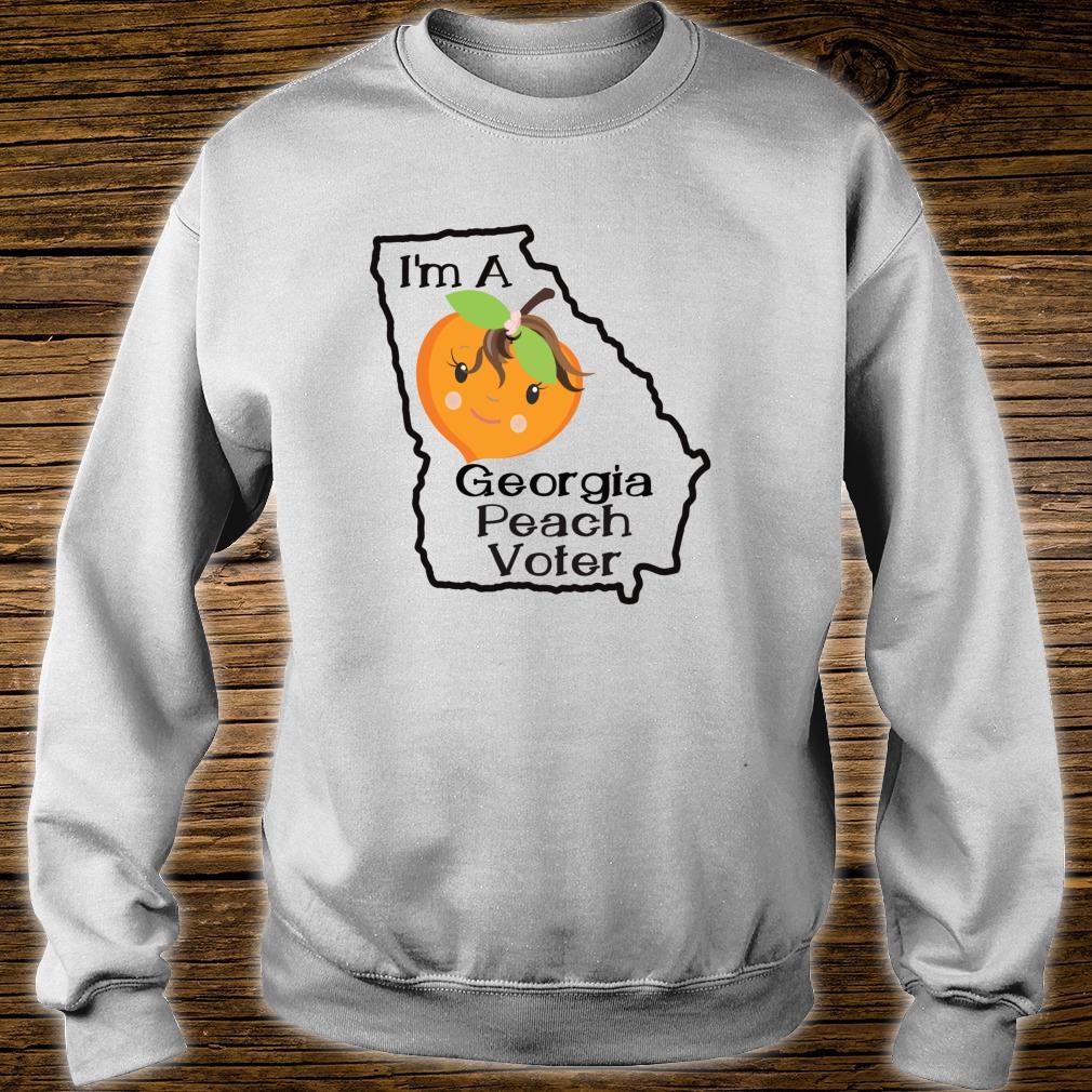 I'm A Georgia Peach Voter Atlanta Georgia Voting Shirt sweater