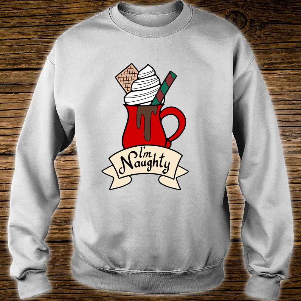I'm Naughty Christmas Holiday Shirt sweater