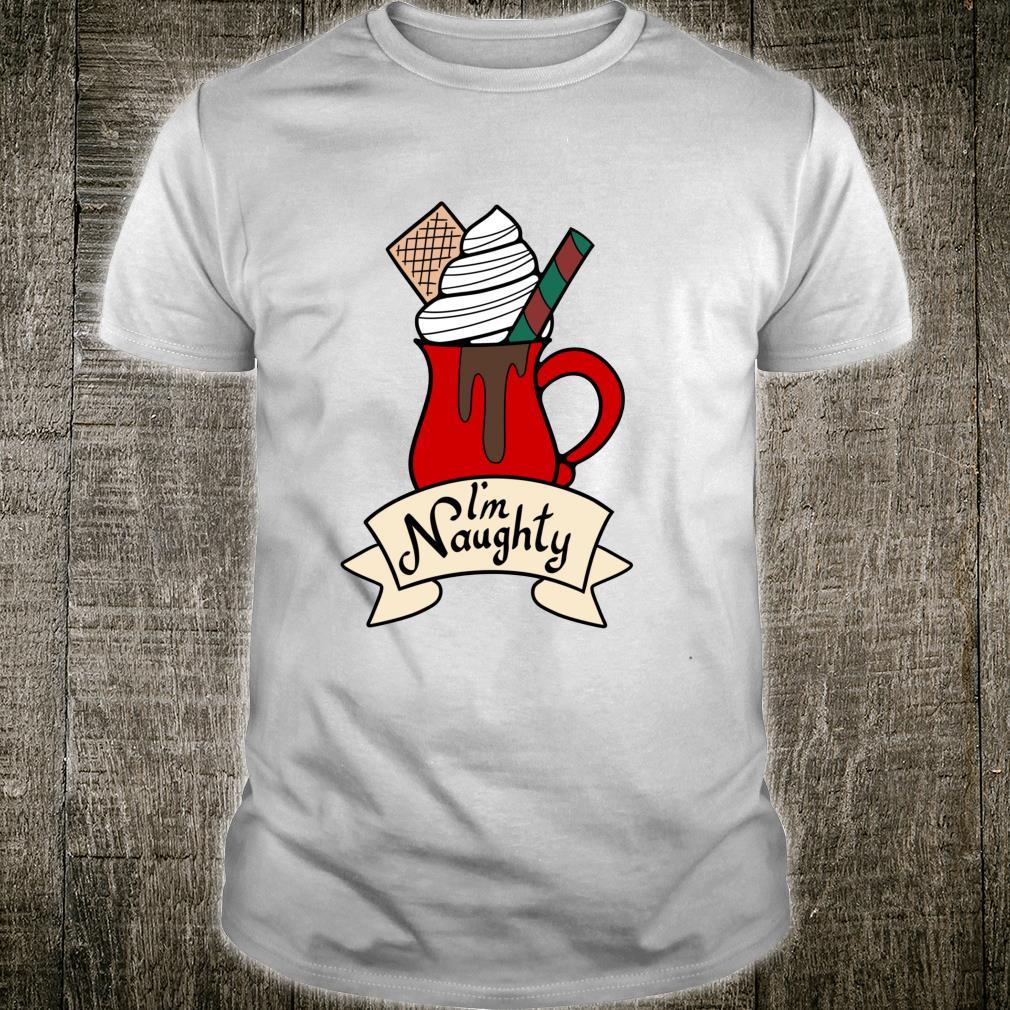 I'm Naughty Christmas Holiday Shirt