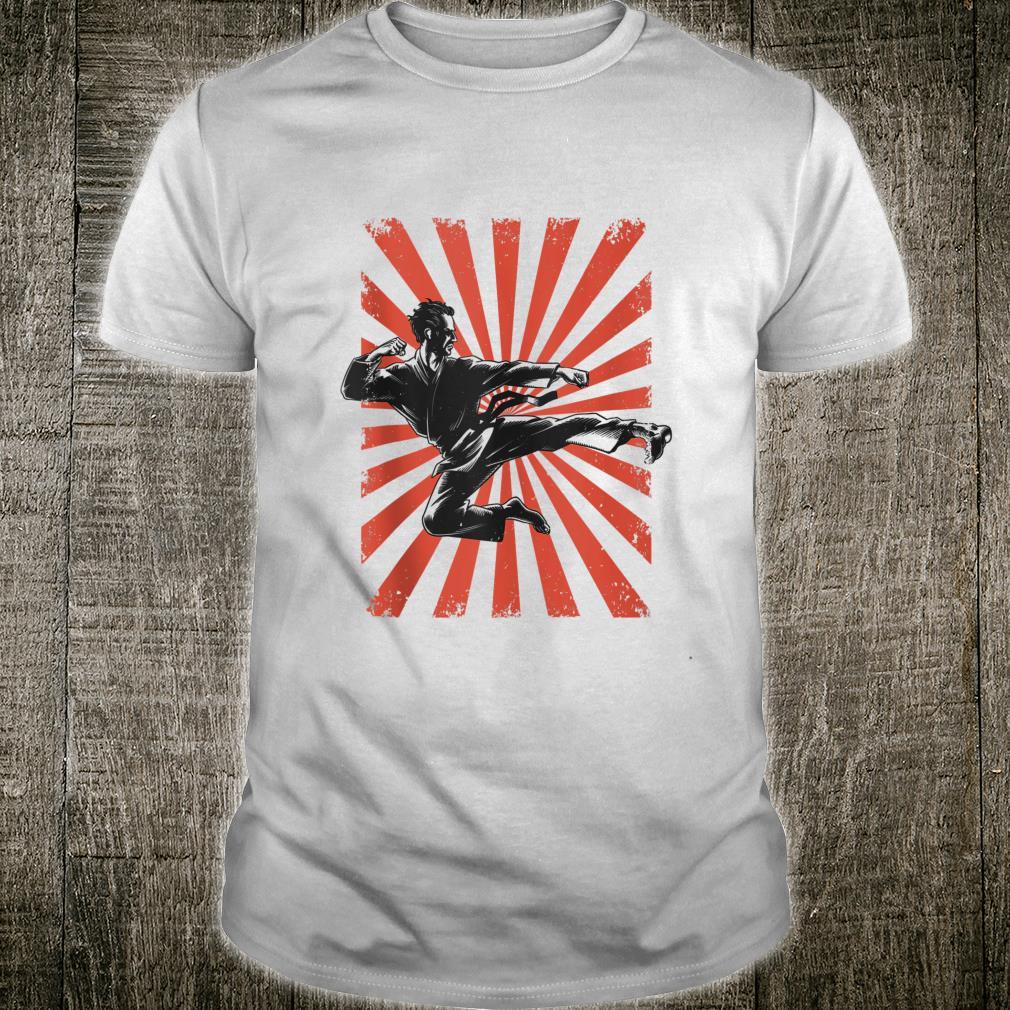 Karate Retro Vintage 60s 70s Karateka Martial Arts Shirt
