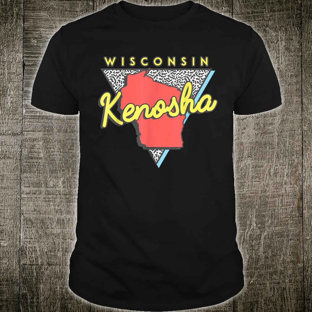 Kenosha Wisconsin Vintage WI Retro Triangle Shirt
