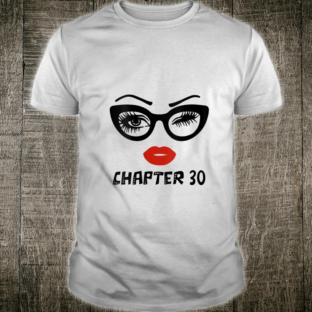 Ki Chapter 30 Years Old Birthday Costume Born In 1990 Shirt