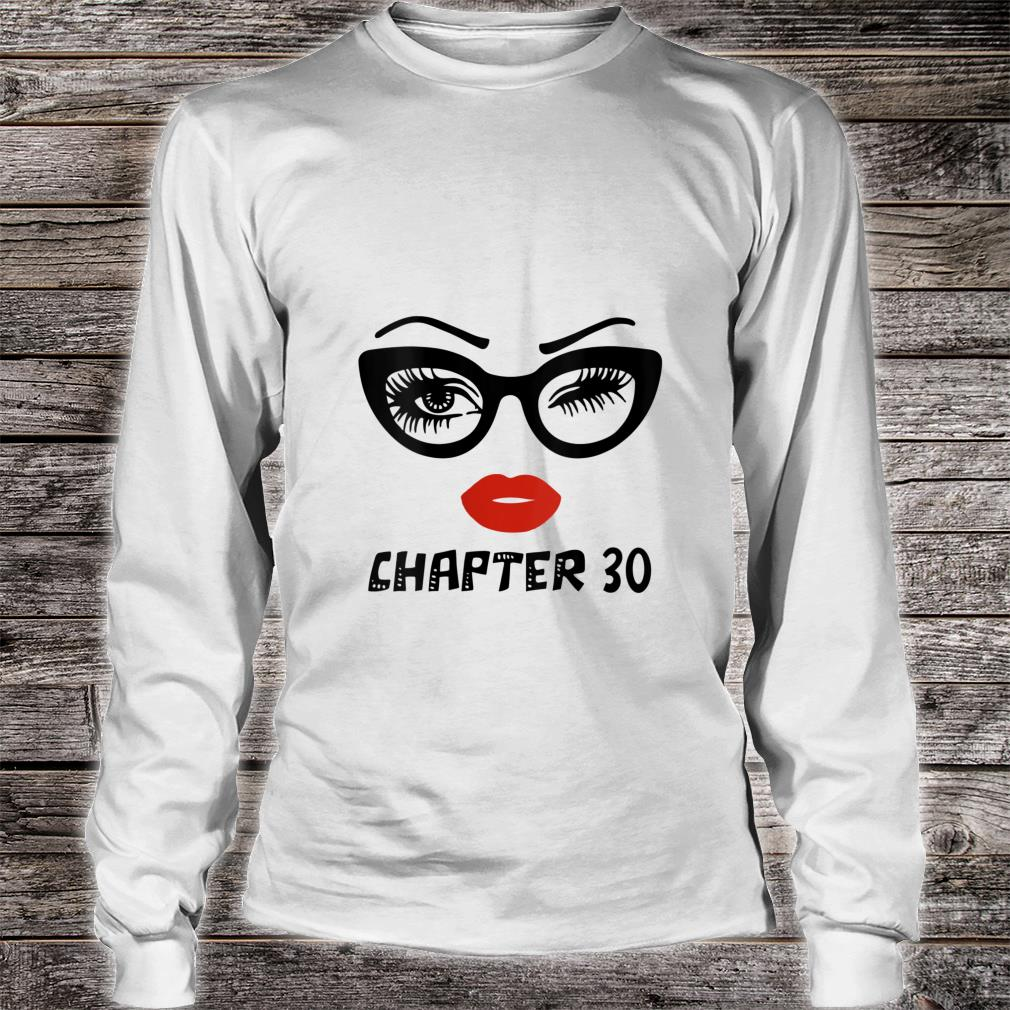 Ki Chapter 30 Years Old Birthday Costume Born In 1990 Shirt long sleeved