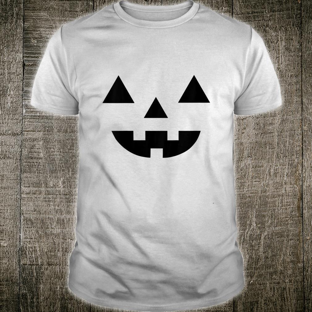 Kinder Cool Halloween Jack O' Lantern Pumpkin Face Fun Costume Shirt