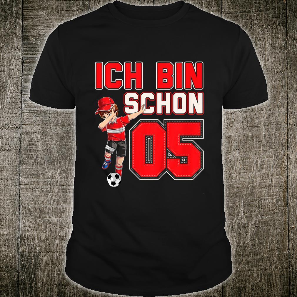 Kinder Geburtstags Ich Bin Schon 5 Jahre Fußball 5. Geburtstag Shirt