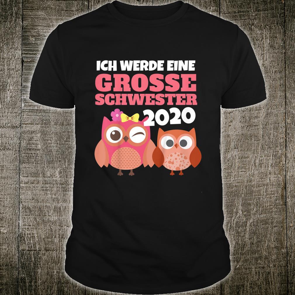 Kinder Stolze Große Schwester in 2020 mit Eulen I Mädchen Kind Shirt