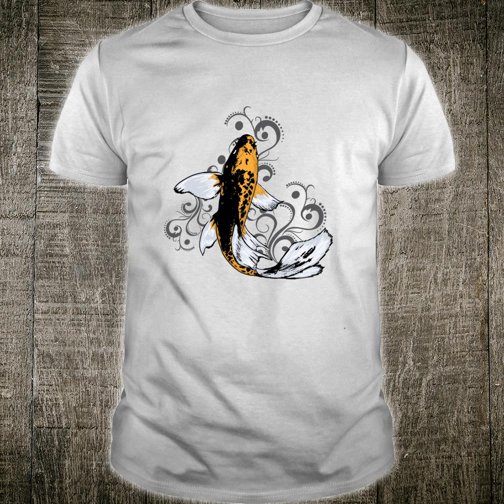 Koi Fish Butterfly Shirt