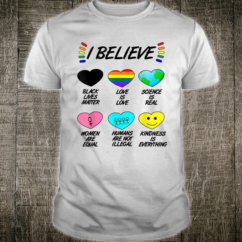 LGBT Gleichberechtigungchenrechte Wissenschaft Demo Shirt