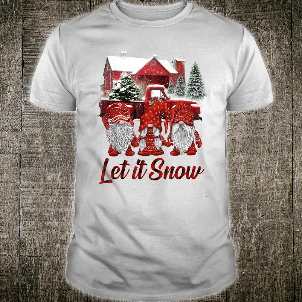 Let It Snow Gnomies Christmas Shirt