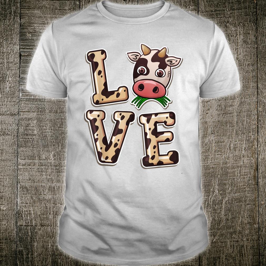 Love Cows Cow Spirit Animal Cool Farmer Wife Shirt