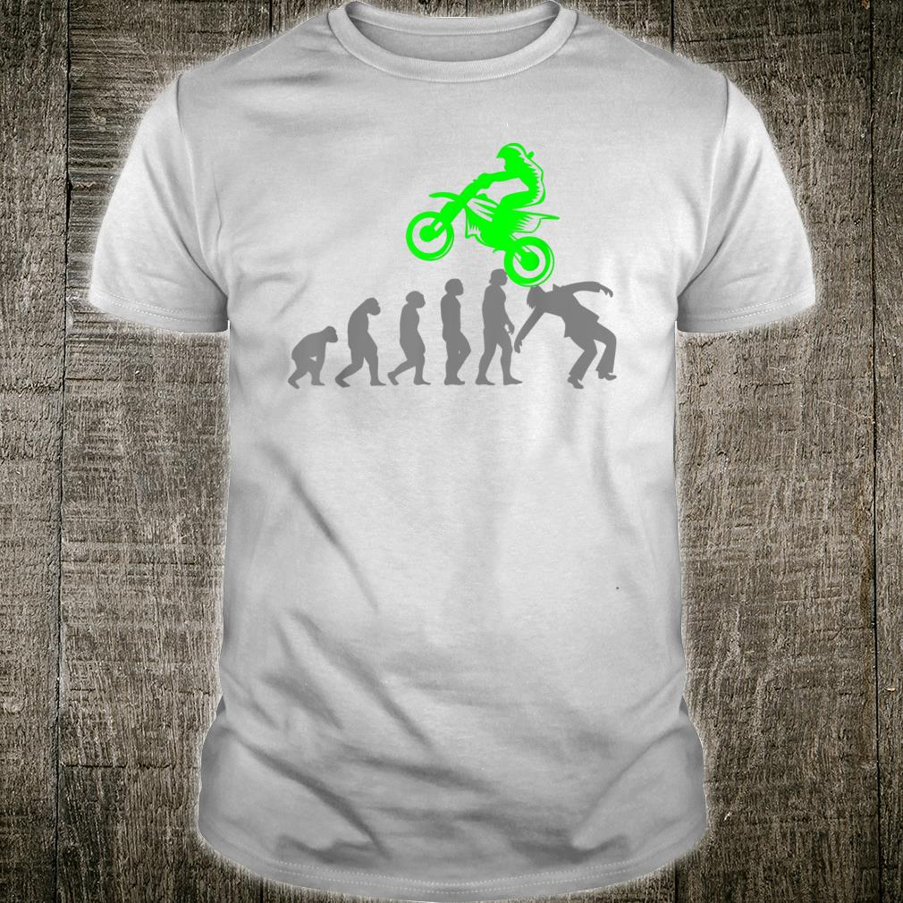 MOTOCROSS Motorcycle Pitbike Biker Evolution Pitbike Shirt