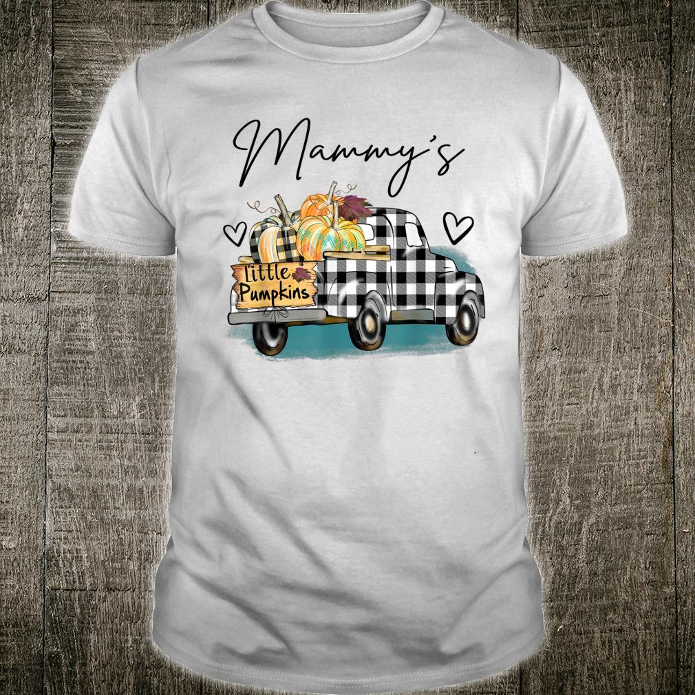 Mammy's Pumpkin Patch Truck Art Halloween Shirt