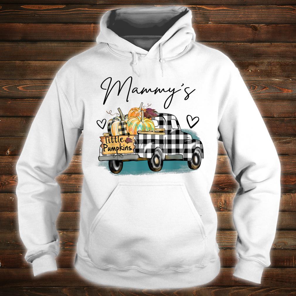 Mammy's Pumpkin Patch Truck Art Halloween Shirt hoodie