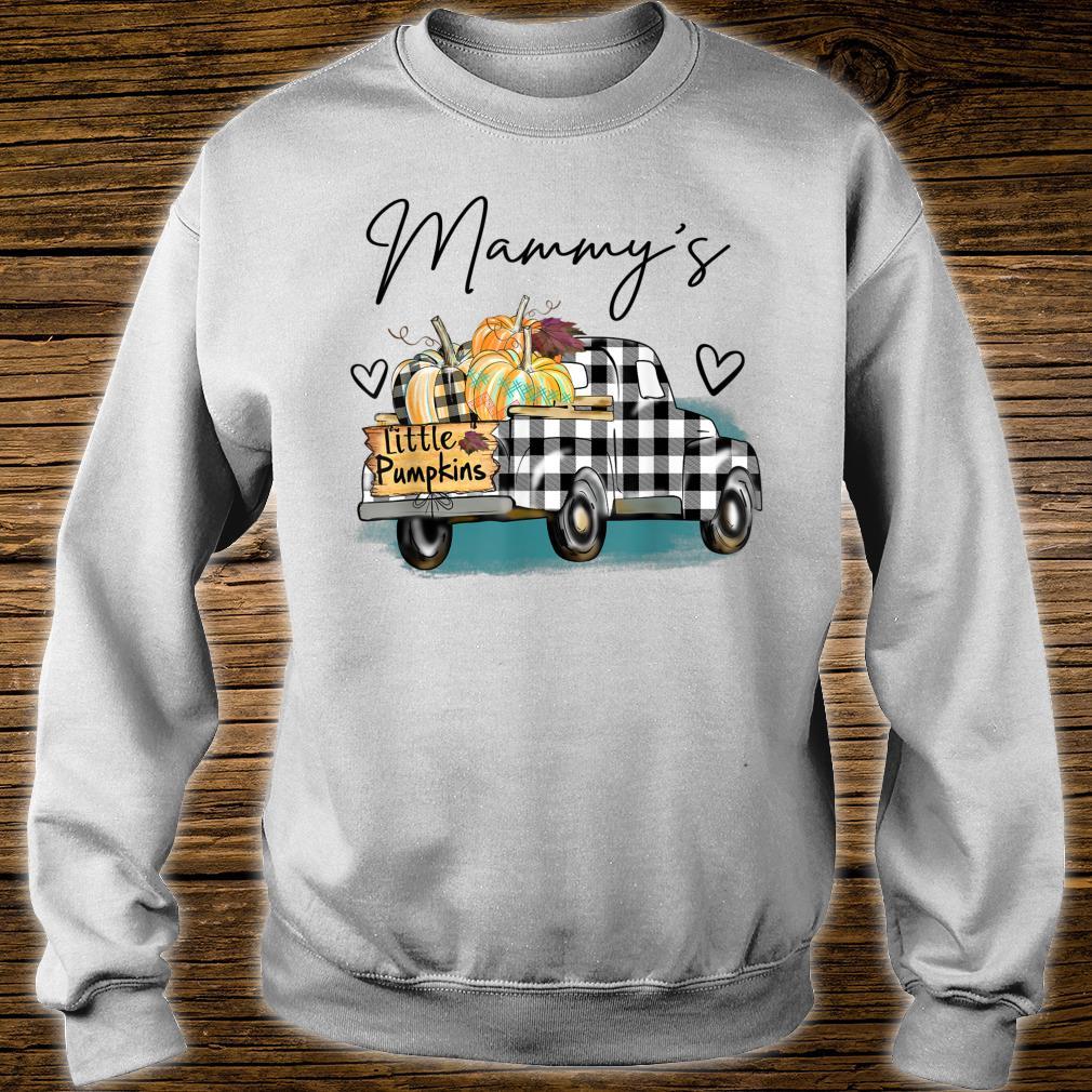 Mammy's Pumpkin Patch Truck Art Halloween Shirt sweater