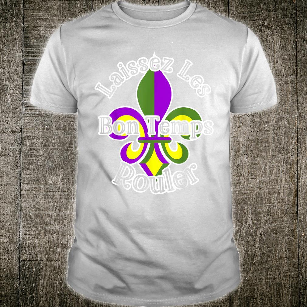 Mardi Gras Laissez Les Bon Templs New Orleans Shirt