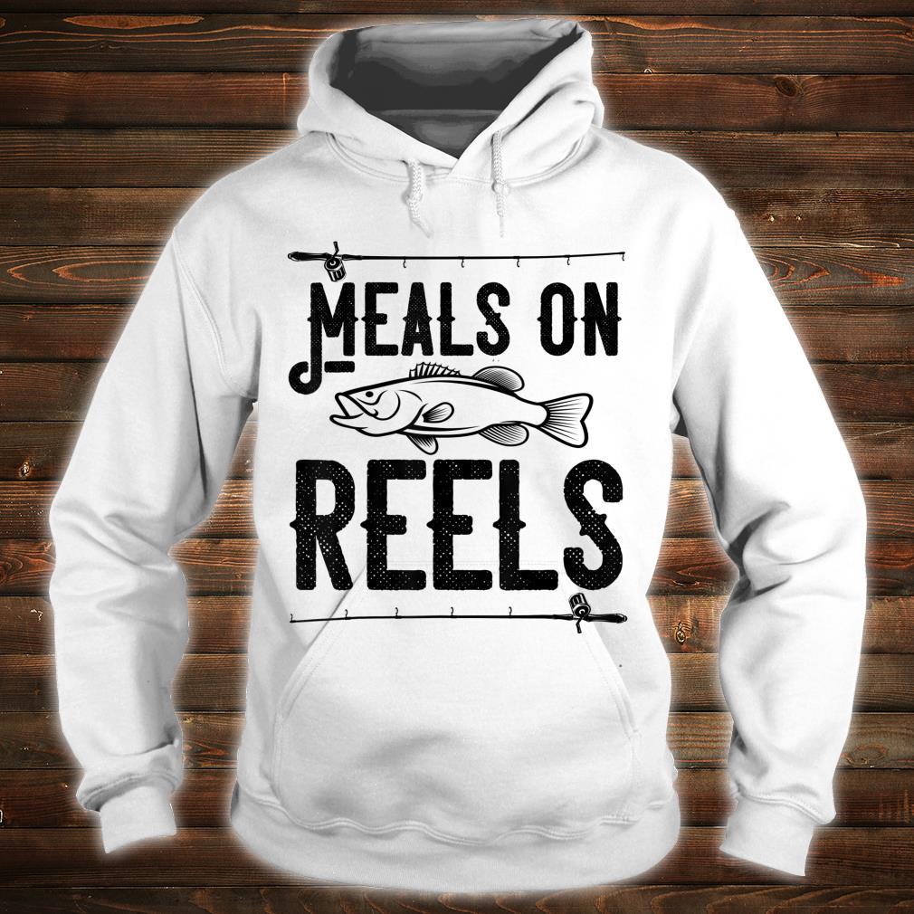Meals on Reels Fishing Shirt hoodie