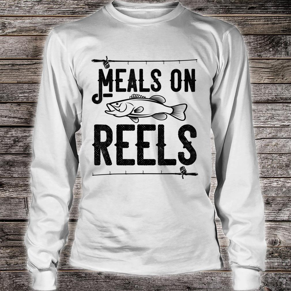 Meals on Reels Fishing Shirt long sleeved