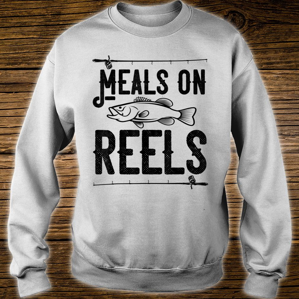 Meals on Reels Fishing Shirt sweater