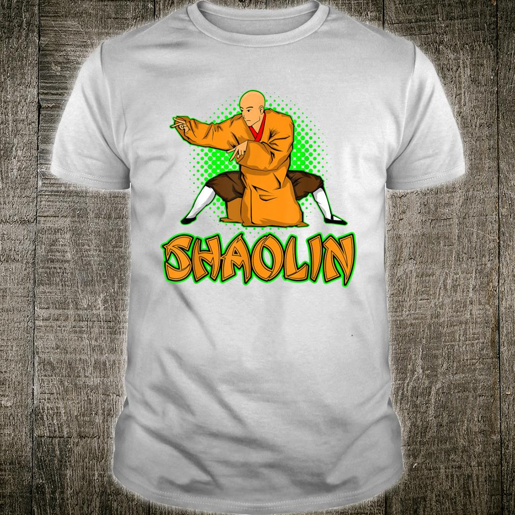 Mixed Martial Arts Kung Fu Shaolin Shirt