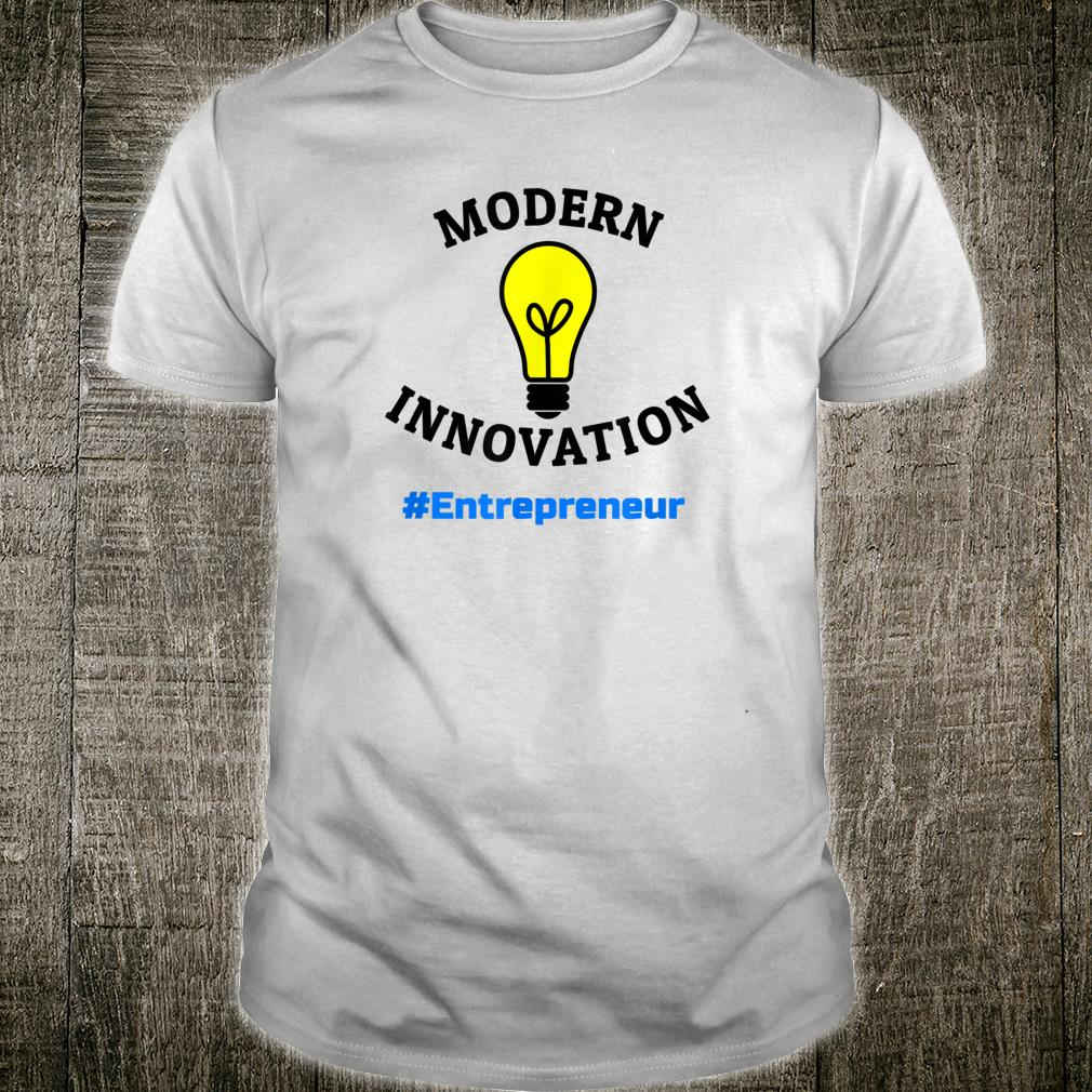 Modern Innovation Entrepreneur Print Shirt