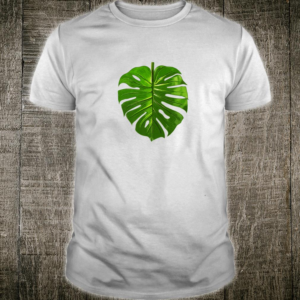 Monstera Palm Leaf Botany Plants gardening cute Shirt