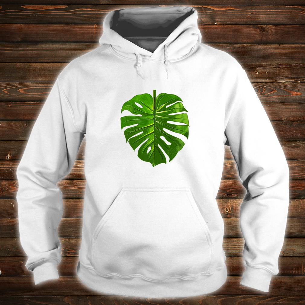 Monstera Palm Leaf Botany Plants gardening cute Shirt hoodie