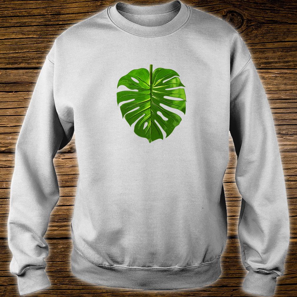 Monstera Palm Leaf Botany Plants gardening cute Shirt sweater
