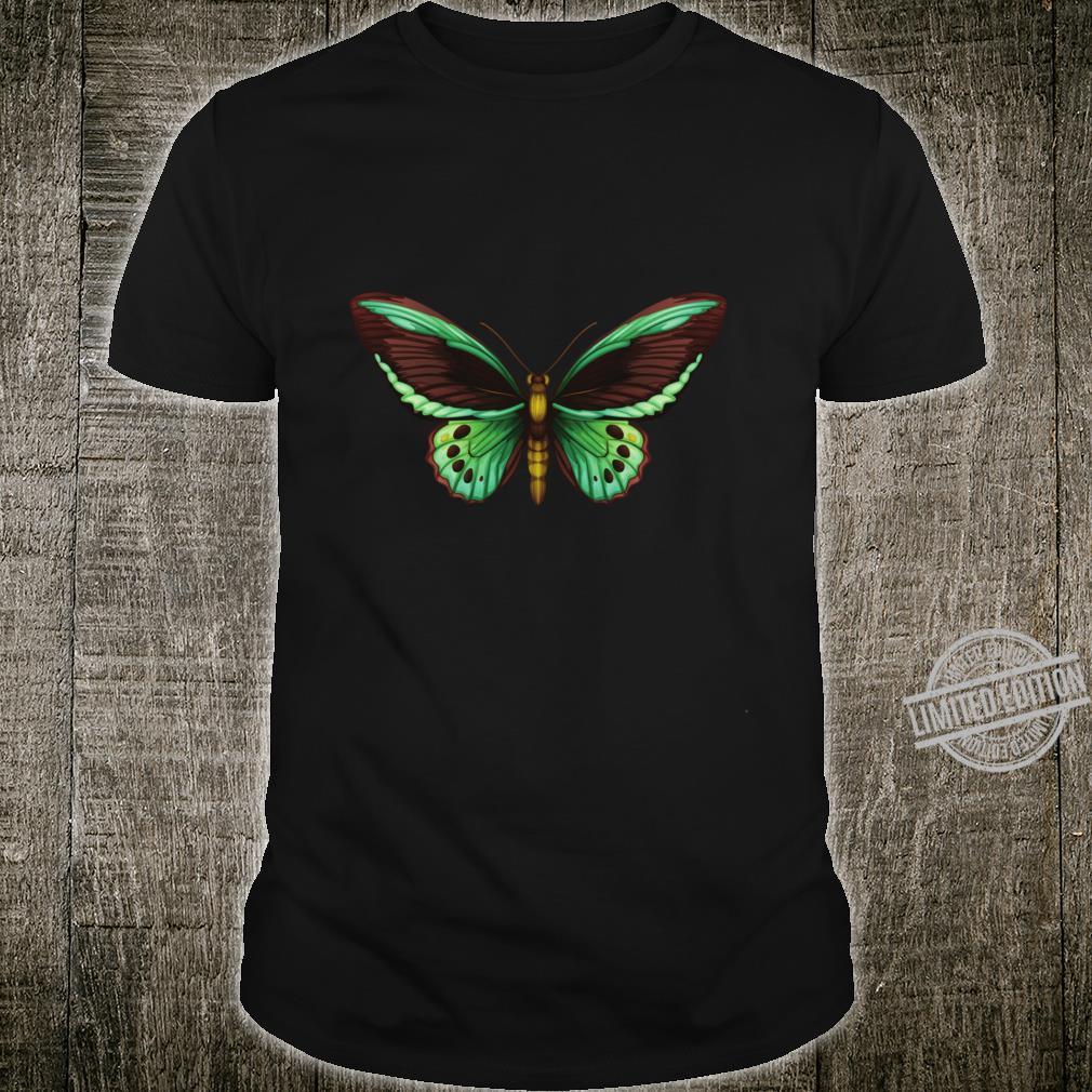 Moon Moth Art Botanical Butterfly Bug Bee Biology Entomology Shirt