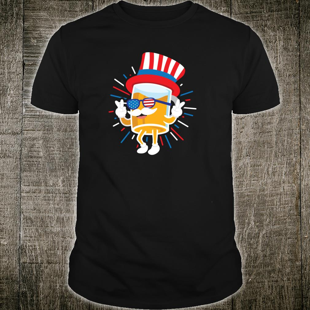 Mr Beer Uncle Sam Hat Sunglasses 4th Of July USA Flag Shirt