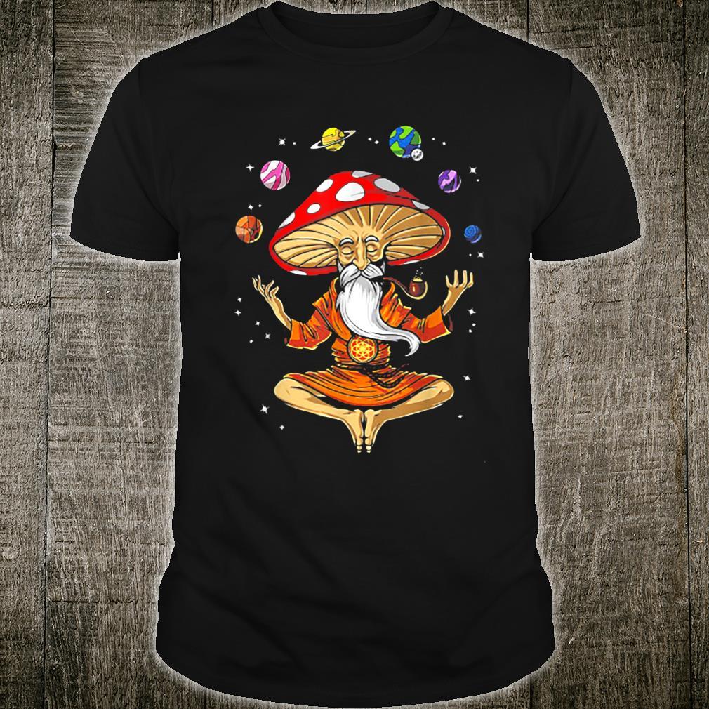 Mushroom Yoga Shirt Shirt