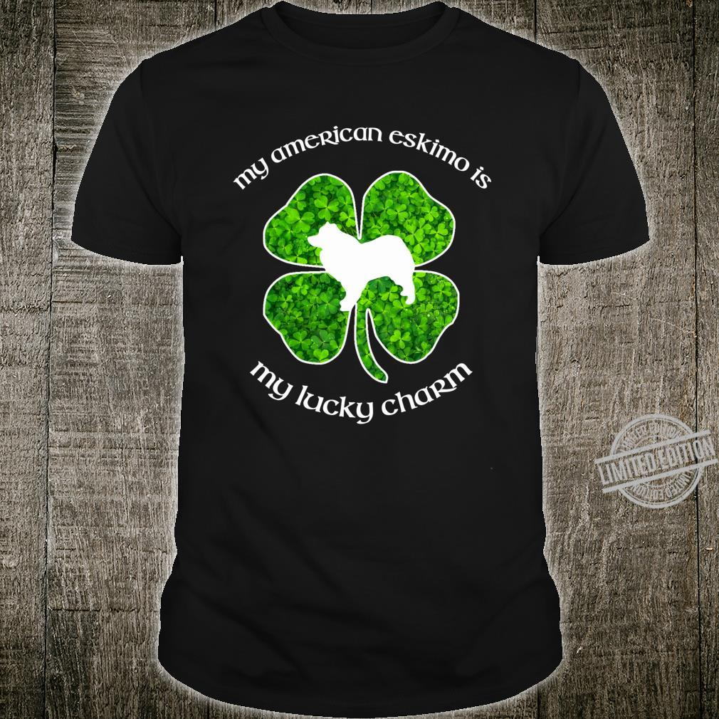 My American Eskimo Dog My Lucky Charm Green St Patrick's Day Shirt