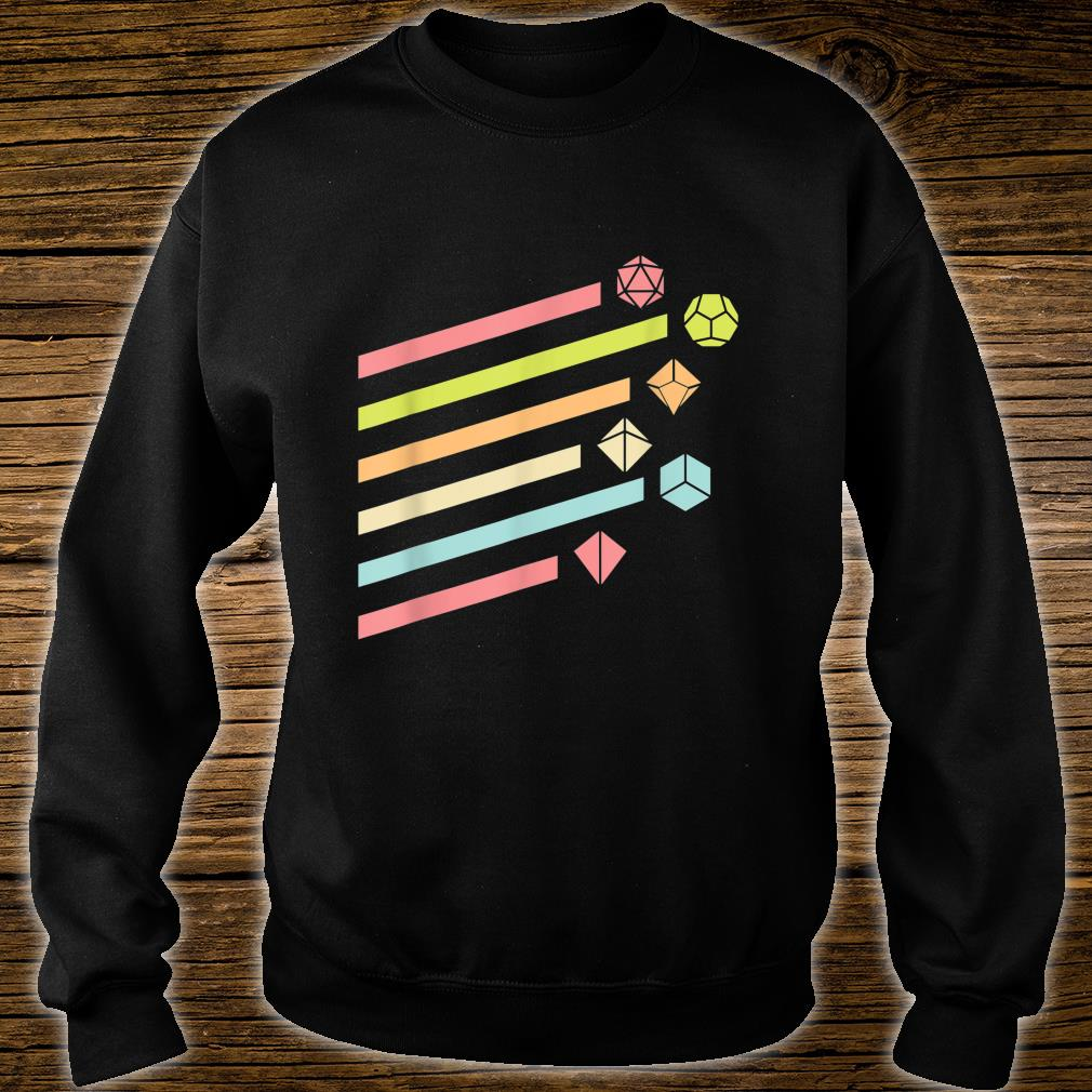 Nerdy Vintage Dice Set Shirt sweater