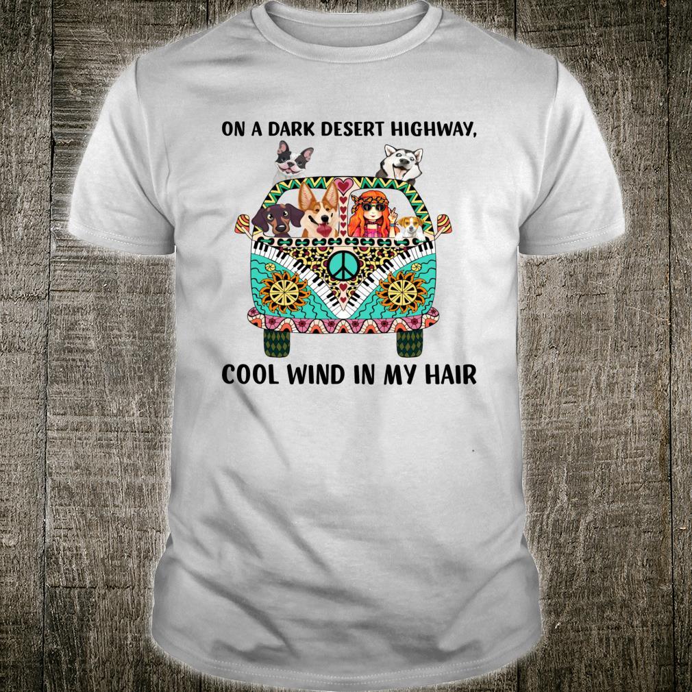 On a dark desert highway pet Shirt