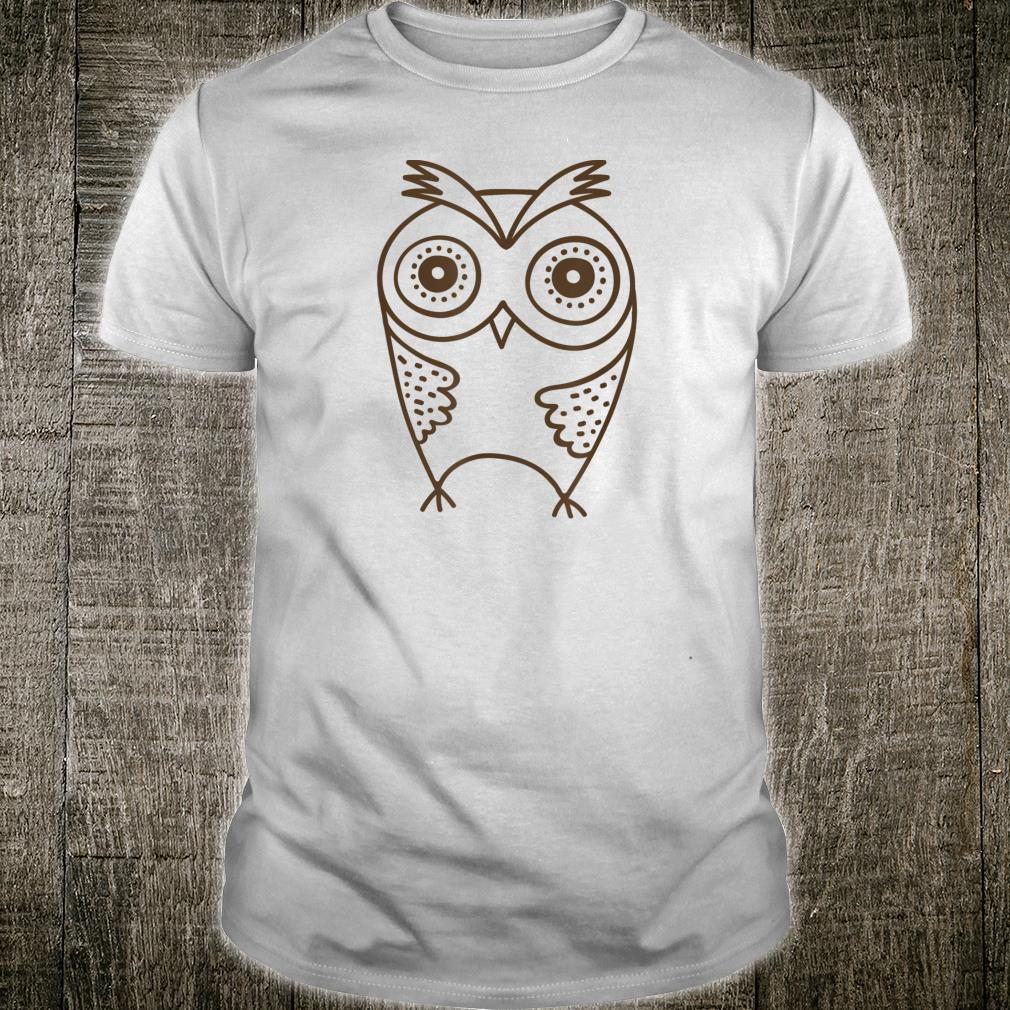 Owls and, Cute Owl for Birthday Shirt