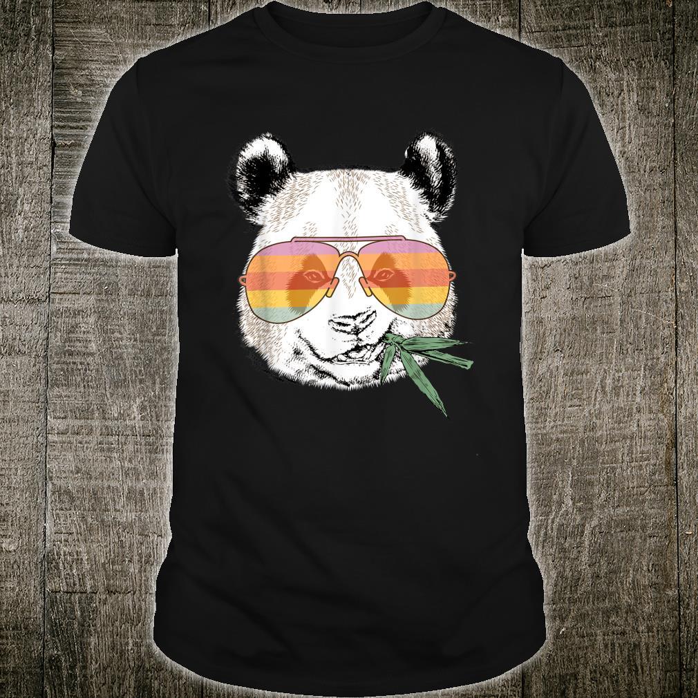Panda Mit Sonnebrille Cool Shirt