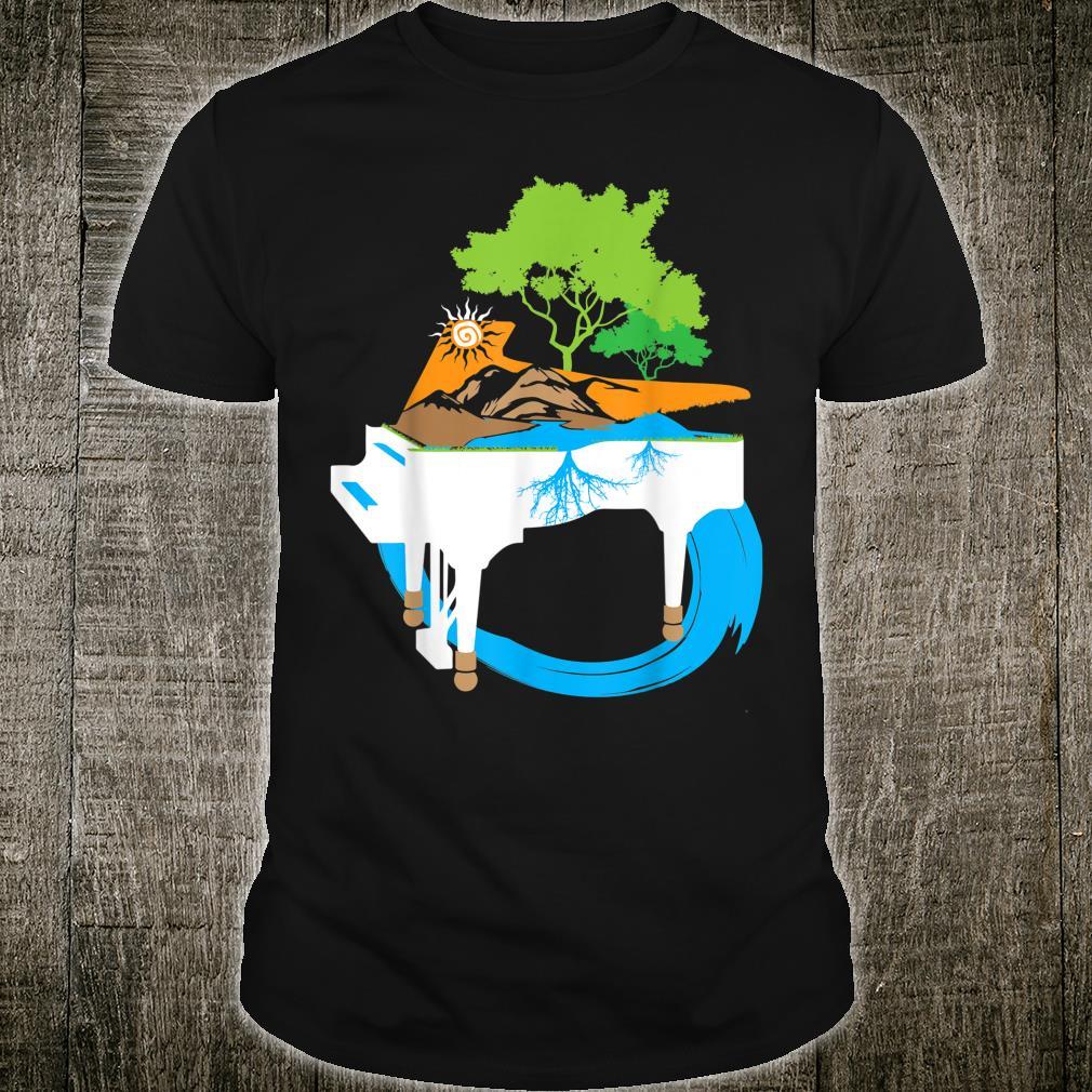 Piano Lake Mountain Shirt