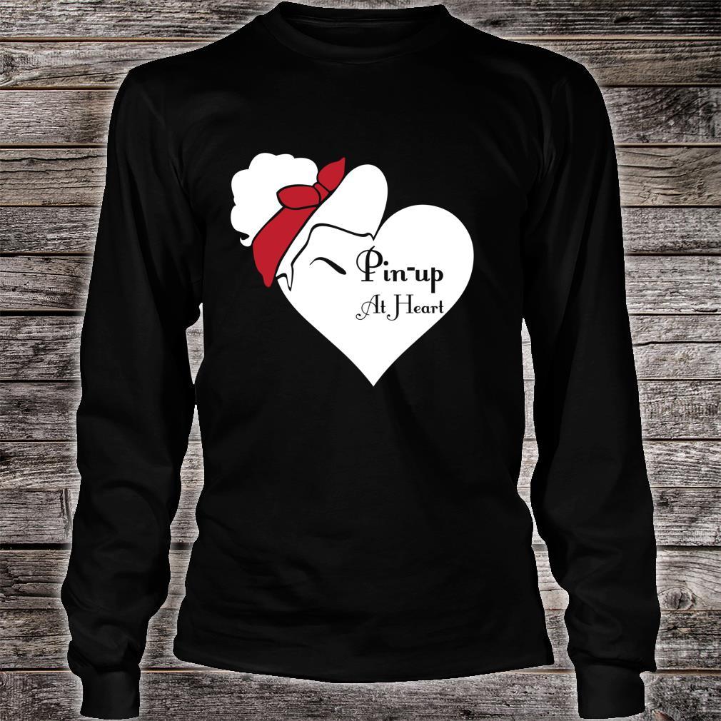 Pin Up im Herzen Shirt long sleeved