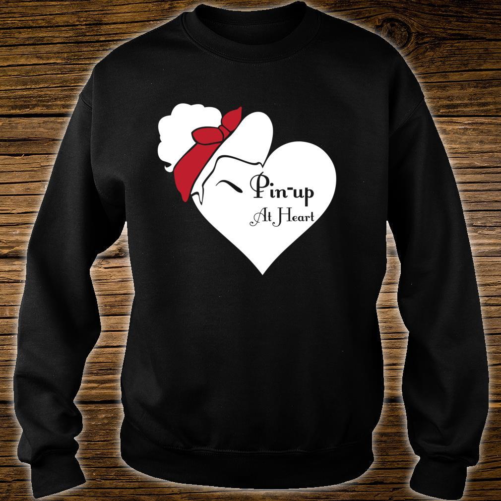Pin Up im Herzen Shirt sweater